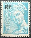 フランス1944年 50普通切手シリーズ