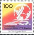 ドイツ切手 1991年 第25回国際観光博覧会