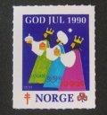 ノルウェー 1990年クリスマスシール