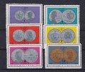 キューバ切手 1965年 コイン 6種