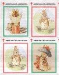アメリカ クリスマスシール 2000年 ピーターラビット ウサギ