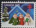 カナダ1975年クリスマスシール
