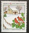 アメリカ1992年クリスマスシール