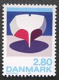 1985年デンマーク 聴覚障害 切手