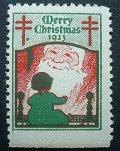 アメリカ1923年クリスマスシール