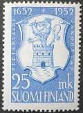 フィンランド切手 1952年 武器