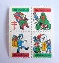 アメリカ1974年クリスマスシール