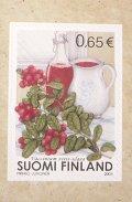 フィンランド切手 2003年こけもも