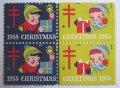アメリカ1955年クリスマスシール