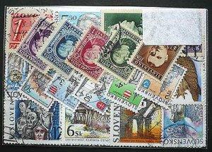 画像2: スロバキア 切手セット50