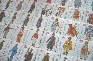 画像2: メキシコ クリスマスシール 赤十字 複十字 1965-66年 制服・衣装 50種