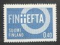 フィンランド切手 1967年 欧州自由貿易連合加盟