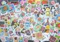 世界 バラ 花切手セット100