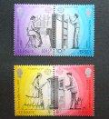 ジャージー島 切手 1979年 ヨーロッパ切手 ポストマン