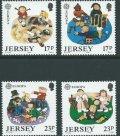 ジャージー島 切手 1989年 子ども オモチャとゲーム