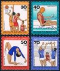 西ドイツ切手 1976年 オリンピック選手強化