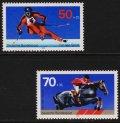ドイツ切手 1978年スポーツ振興