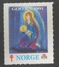 ノルウェー 1991年クリスマスシール