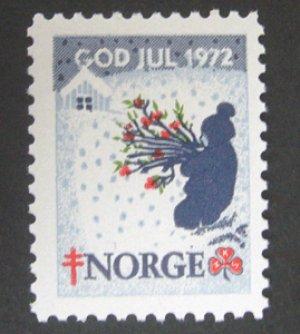 画像1: ノルウェー 1972年クリスマスシール