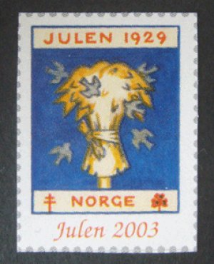 画像1: ノルウェー 2003年 クリスマスシール