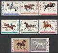 ポーランド切手 1967年 馬 8種