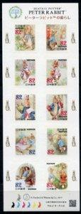 画像3: 日本切手 2015年 ピーターラビット 【小型シート】 (3)