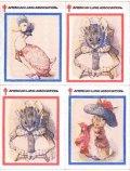 アメリカ クリスマスシール 1999年 マザーグース ウサギ