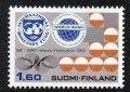 フィンランド切手 1982年 ヘルシンキ国際通貨基金 1種