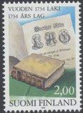 フィンランド切手 1984年 法律 1種