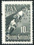 フィンランド切手 1947年 平和の追従 1種