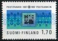 フィンランド切手 1987年 フィンランド 銀行 100周年 1種
