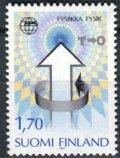 フィンランド切手 1987年 7回総会ヨーロッパ物理学会 1種