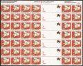 アメリカ 1990年 クリスマスシール シート
