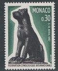 モナコ切手 1967年 国際畜犬連盟 犬 1種