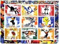タジキスタン切手 2001年 バックスバニー アニメ シート