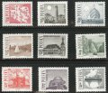 ポーランド切手 1966年 観光 9種