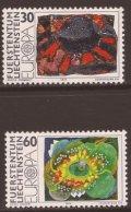 リヒテンシュタイン切手 1975年 ヨーロッパ切手 絵画 2種