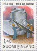 フィンランド切手 1982年 労働者協会100年 1種