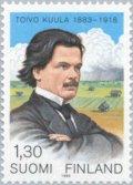 フィンランド切手  1983年 トイヴォ・クーラ 1種