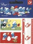 画像2: ベルギー切手 2007年 スマーフ アニメ 5種 (2)