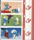 画像3: ベルギー切手 2007年 スマーフ アニメ 5種 (3)