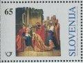 スロベニア切手 1995年 クリスマス 1種