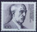 ドイツ切手 1990年 ロイシュナー生誕100年 1種