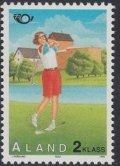 オーランド切手 1995年 ゴルフ 1種