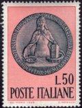 イタリア切手 1969年 アメリカドル支払い 1種