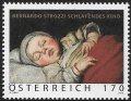 オーストリア切手 2012年 バーナード・ストロッツィ  絵画 1種