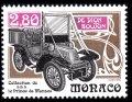 モナコ切手 1994年 車 クラッシックカー ド・ディオン ブートン 1種