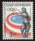 チェコ切手 1996年 アトランタオリンピック 1種