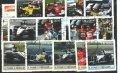 F1切手 フォーミュラ1切手 モータースポーツ 車 25