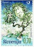 スロベニア切手 2010年 スロベニア神話 1種